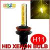 C.C. 35W 3000k Yellow/Amber Best de H11 Single Beam HID Xenon Bulbs para Fog Lamp H1 H3 H4 H7 H8 H9 H27 880 9005 9006 (GG04)