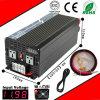 2000W DC-AC Inverter 12VDC ou 24VDC 48VDC a 110VAC ou a 220VAC Pure Sine Wave Inverter com C.A. Charge