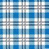 Verificação Azul grossista personalizados Gingham guardanapo de papel impresso 33x33cm