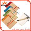 شعبيّة رخيصة صنع وفقا لطلب الزّبون [سبيرل نوتبووك] مع قلم ([بنب006])