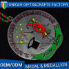 Alta medaglia del metallo di Quanlity nella placcatura antica con Nizza lo stile
