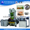 Chaîne de production de cuve de papier d'aluminium de ménage