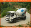 Op zwaar werk berekende Vrachtwagen 5cbm van de Mixer van het Cement van China Foton 4X2 6cbm de Vrachtwagen van de Concrete Mixer