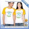 Zoll gedruckte Baumwolraglan-Hülsen-Geliebt-T-Shirts