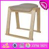 上の新しい木のソファーの椅子の家具の椅子、容易な木のおもちゃによっては装飾される木の椅子庭に一定の着席のソファーの椅子W08f033を取る