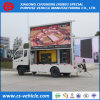 Foton P8 P10 LED Screen Small Mobile LED Advertising Truck