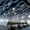 مكتب زخرفيّة معدن سقف ألومنيوم يغضّن لوح