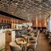 (SD3022) El restaurante del Hotel moderno de madera juego de muebles de salón bar