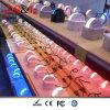 Mini LED 180grados de luz decorativa lámparas de cristal