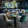 Het moderne Meubilair van het Restaurant van de Koffie van het Metaal voor de Reeksen van de Lijst en van de Stoel