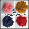 0.8d à fibra de grampo de poliéster colorida 100d