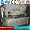 QC11yの油圧ギロチンのせん断機械、CNCのコントローラが付いている打抜き機