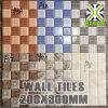 De Grootte 20X30, de Tegels van Ceramiektegels van de Baksteen van de Muur