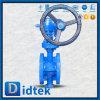 Didtekの二重風変りなステンレス鋼のフランジは蝶弁を終了する