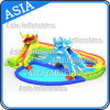 Drago Gigante Scivolo gonfiabile parco acquatico con piscina