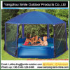 Sonnenschutz-drapiert im Freienhexagon-Garten Pool-Pavillion-Zelt