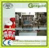 トマトのりの磨き粉のパッキング機械