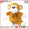 La peluche molle de peluches de promotion bon marché de la Chine joue le singe de Brown