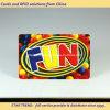 Belüftung-magnetischer Streifen-nachladbare Karte für Unterhaltungs-Mitte