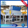 Jardín del eje doble/tubo plástico del HDPE/máquina plástica casera de la desfibradora