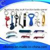 Abrelatas de botella promocional de la aleación de aluminio del regalo de la herramienta creativa de la barra de la exportación