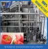 신선한 수박 주스 채우는 생산 기계