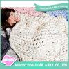 柔らかい手の編むウールは中国アクリルの毛布をかぎ針で編む