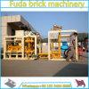 Bloque hueco concreto automático inmóvil del dispositivo de seguridad Qt4-25 que hace la máquina