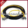24 fili LC - cavo Pre-Terminato ottico monomodale della fibra di LC