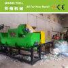 Plastikflasche, welche die Maschine/Plastik aufbereiten waschende Zeile aufbereitet