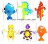 Het plastic Speelgoed van het Bad van het Speelgoed van de Baby voor de Wind van Jonge geitjes springt Plastic Speelgoed op