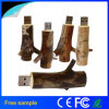 자연적인 나무로 되는 분지 USB 섬광 드라이브 목제 기억 장치 USB