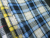 면 털실은 셔츠 Lz6779를 위한 Flannel 검사 직물을 염색했다