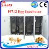 Grande incubadora de ovos automática para 20 000 ovos de galinha