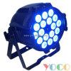 Professionnel 18PCS 10W RGBW DEL Disco PAR Light