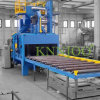 Het Vernietigen van het Schot van de Transportband van de rol Machine om Staalplaat Schoon te maken