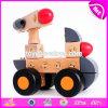 Venda por grosso de materiais educativos barata robôs de brinquedos de madeira para crianças W04A347