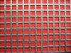Aço inoxidável furo quadrado de metal perfurada