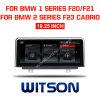 Grande automobile DVD del Android 8.1 dello schermo di Witson BMW per 10.25 '' serie di BMW 1 2 F20 F22