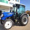 70HP Tractor met 4 wielen met Front Loader en Backhoe Attachment