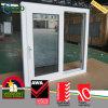 PVC 비닐 어두운 회색 색을 칠한 충격 유리 미끄러지는 Windows