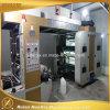 Печатная машина полиэтиленовой пленки Flexo 6 цветов высокоскоростная