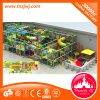 Guangzhou-heißer Verkauf scherzt Liebes-federnd Schloss-Innenspiel-Geräten-Innenkleinkind-Spielplatz