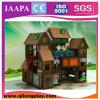 Подгонянная спортивная площадка деревянной темы дома крытая (QL-16-13)