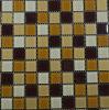 Mattonelle di mosaico di vetro di colore della miscela della decorazione