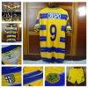 卸し売り習慣98-99イタリアパーマUefaはCannavaroのサッカーのジャージーのタイの品質のサッカーチームのジャージをすくう