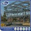 Entrepôt de construction de structure métallique de deux histoires avec la mezzanine en acier de paquet