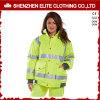 Fabricantes de desgaste de segurança reflectora de alta visibilidade feminina (ELTHJC-399)