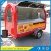 De gebruikte Vrachtwagen van het Voedsel voor Verkoop in Kar van de Hotdog van de Aanhangwagen van het Voedsel van de Vrachtwagens van het Voedsel van China Mobile de Mobiele met Braadpan