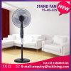 Neues Produkt 16 Zoll-Schwarz-Standplatz-Ventilator mit lärmarmem